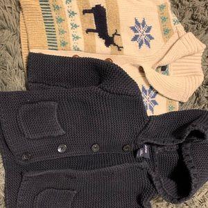 2 Baby Gap Sweaters